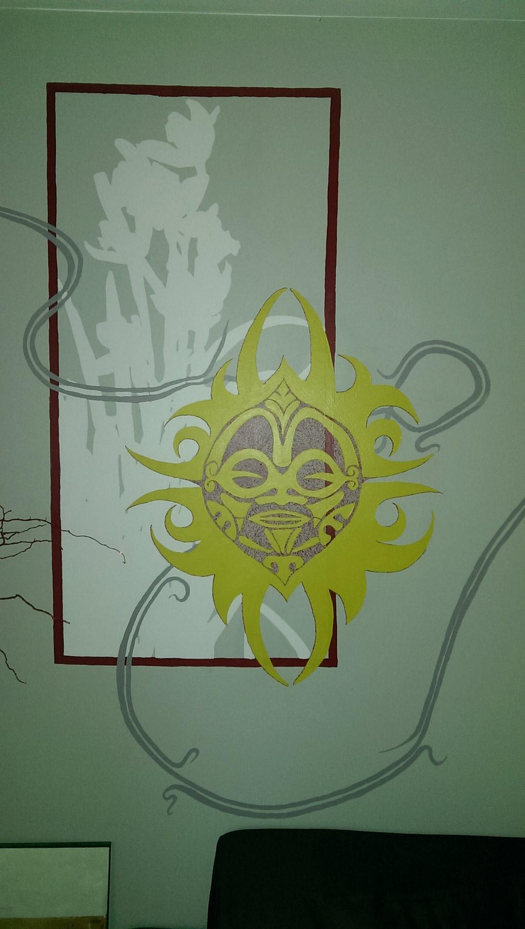 D Coration Murale Du Salon De Tatouage